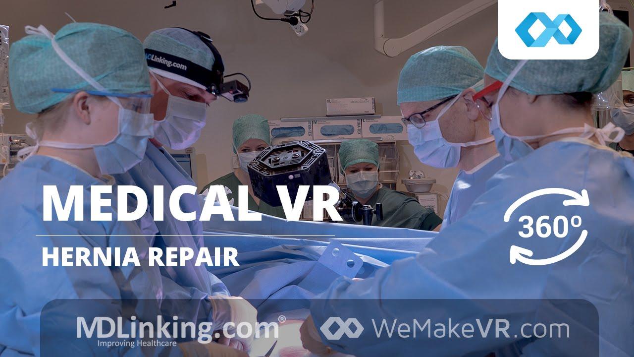 WeMakeVR Medical - Incisional Hernia Repair in 360º