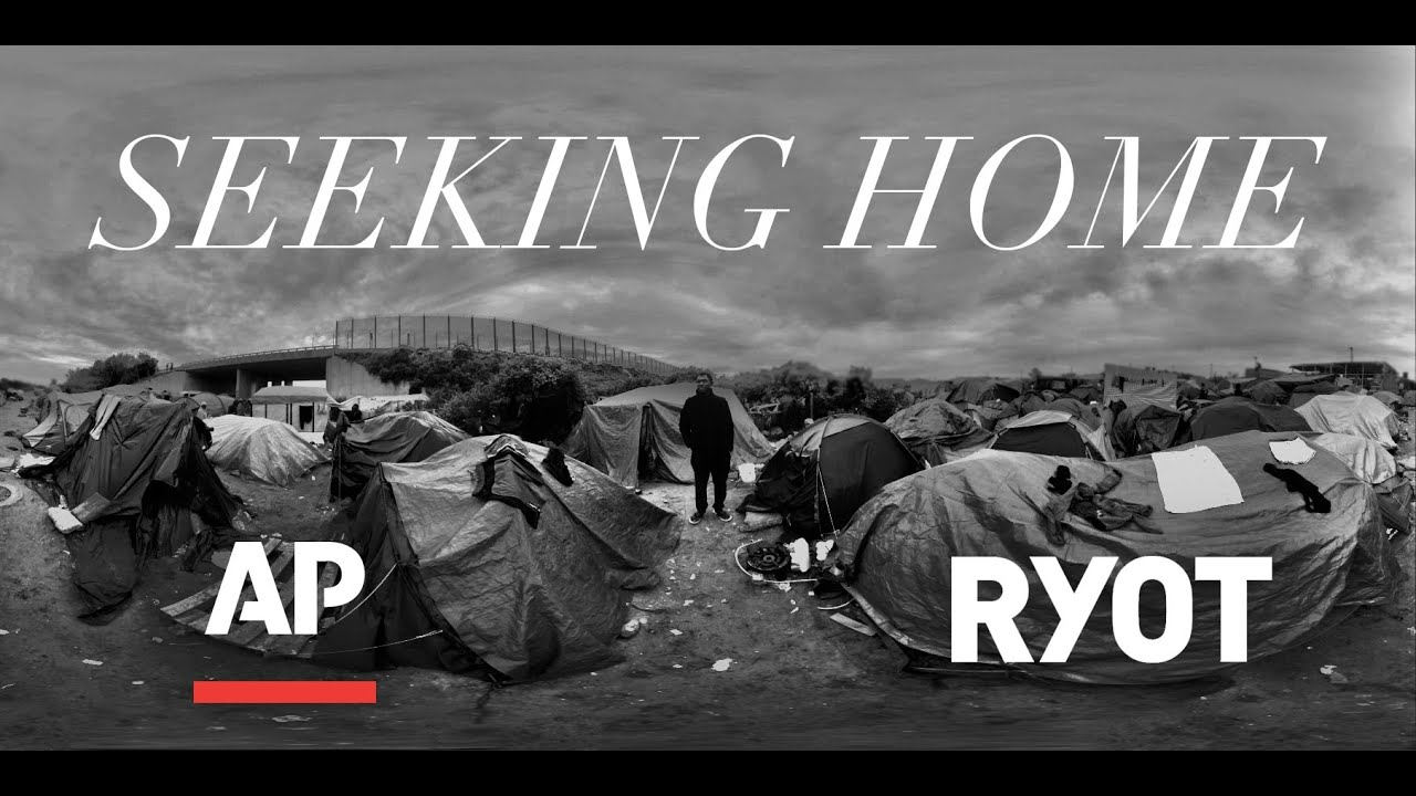 Seeking Home: Life inside the Calais Migrant Camp 360 Video