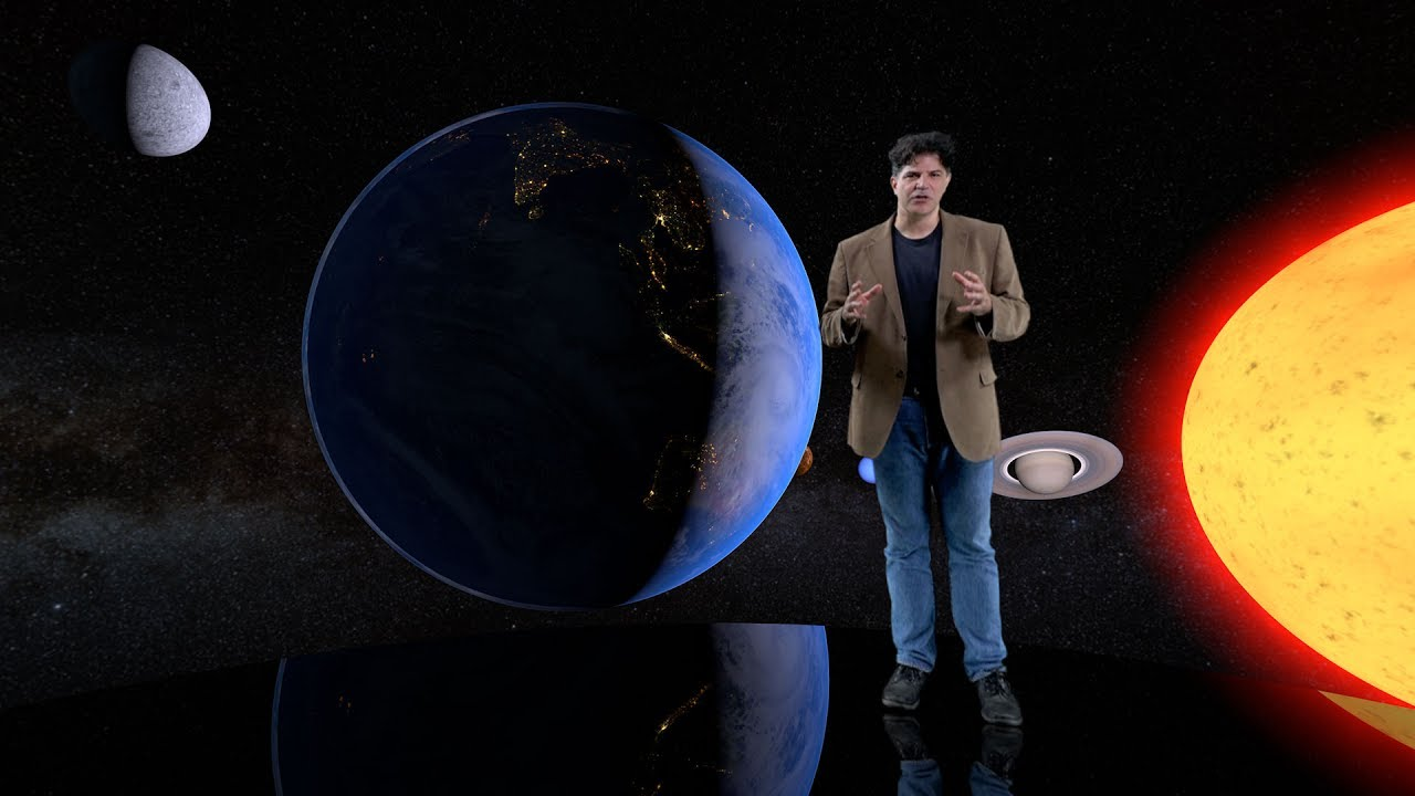 Journey to the Birth of the Solar System 360 VR
